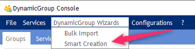 Smart Creation Wizards - DynamicGroup