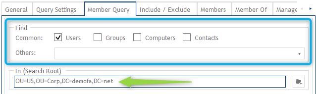 Member Query - Standortberechtigungen im ActiveDirectory